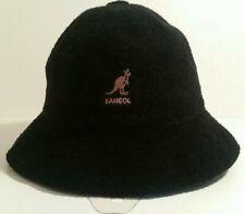 Kangol Bermuda Casual Bucket Retro Black Hat Size Small