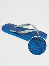 Bnew Gap + Pride Print Mens Flip Flops, Deep cobalt, Size 10-11