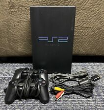 New listing PlayStation 2 Ps2 Fat Console Scph-39001 Complete Bundle w/ 2 Controllers