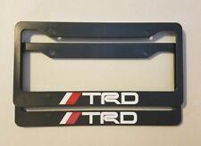 Toyota Racing Development TRD Plastic License Plate Frame Tundra Tacoma 4Runner