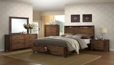 Storage Platform Bed King, Queen, California King Platform Bedroom Set Furniture