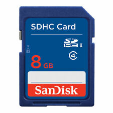 10pcs SanDisk 8GB SD Card SDXC SDHC MEMORY CARD Class 4 8 GB For Digital Cameras