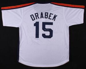Doug Drabek Signed Houston Astros Jersey (TriStar Hologram) N.L.All-Star (1994)