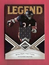 WALTER PAYTON 2010 LEAF LIMITED GAME USE JERSEY CARD #d50/199 BEARS Legend