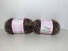 New listing 2 ~ Black Yarn Bee Soft Delight 3.5 oz 200 yards Lot 0292