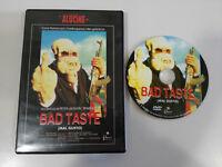 BAD TASTE MAL GUSTO PETER JACKSON DVD + EXTRAS ESPAÑOL ENGLISH TERROR HORROR