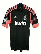 REAL MADRID FC adidas SOCCER TEAM RED JERSEY 110TH ANNIV. 1902-2012 SMALL SIZE
