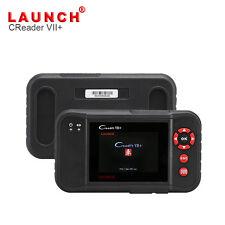 Launch Creader VII+ 7+ OBD2 Code Scanner ABS Airbag Aut. Getriebe Motor CRP123