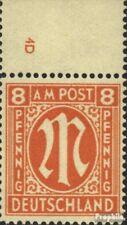 Twee zones (Allied Cast) 14 met Nummerplaat postfris 1945 aan-Post