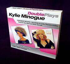 Kylie Minogue-Kylie & Enjoy Yourself-2CD-2005 Mushroom Double Plays-338702-OOP