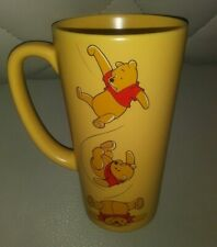 """THE DISNEY STORE WINNIE THE POOH 6"""" COLLECTIBLE CUP MUG VERY RARE AUTHENTIC L@@K"""