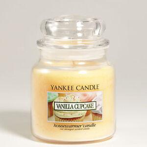 EUR 60,57 pro kg Yankee Candle Duftkerze Jar Housewarmer 411 g Vanilla Cupcake