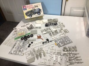 amt model kit jeep 2 kits mixed started hogans heroes