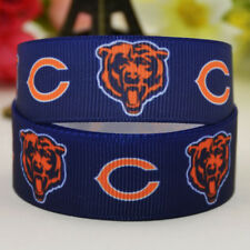 50yards 22mm Chicago bears sport team ball printed Grosgrain Ribbon party decor