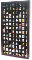 100 Thimble Display Case Cabinet Wall Rack Shadow Box, glass door, TC100-MAH