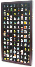 100 Thimble Display Case Cabinet Wall Rack Shadow Box, glass door, TC100-MAH