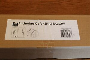 NEW in Sealed Box Palram Greenhouse Anchoring Kit Snap and Grow Series Hardwar