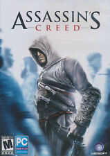 ASSASSIN'S CREED Original Action Adventure PC Game - US Version - NEW!