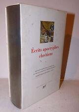 Scritti Apocrifi Cristiani Ecrits Apocryphes chretiens 1997 La Pleiade ex libris