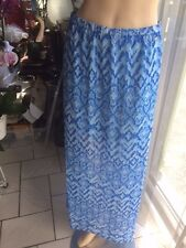 jupe longue authentique Guess bleue  taille S / 36 neuf