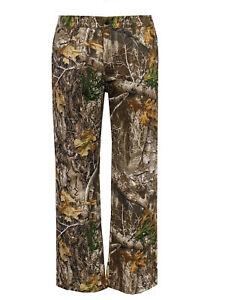 Realtree EDGE Men's 5 Pocket Camo Jean in Cotton/Poly/Spandex Flex Fabric