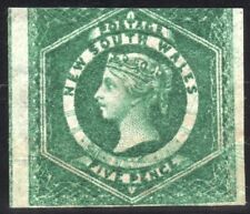 New South Wales, Queen Victoria,  Five Pence stamp.  Issued 1855   SG. 88  mint