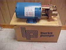 Burks Model 35CT7MV-AB Turbine Pump -1/2HP, 208-230/460 Volts, 3 Phase Motor,NOS