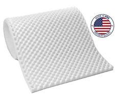 """Vaunn Medical Standard Convoluted Foam Eggcrate Mattress Pad - 3"""" Made in USA"""