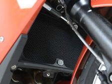 R&G Racing Aluminium Radiator Guard in Black to fit BMW F800 ST