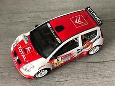 SOLIDO Citroën C2 WRC #5 Rallye Lyon Charbonnieres 2004 sans boîte 1/18