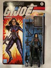 New 2020 Walmart Exclusive G.I. Joe 3.75� Action Figure Baroness Retro Cobra