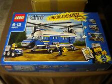 LEGO City Police hélicoptère Superpack 66427 NOUVEAU & NEUF dans sa boîte!!! RARE!!!