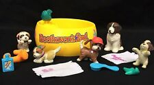 Vintage Littlest Pet Shop Beethoven Puppy Pool 5 Dogs Accessories Kenner 1993