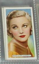 #9 madeleine carroll (gaumont-british) - cigarette card