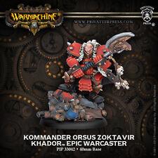 Warmachine - Khador: Kommander Orsus Zoctavir  PIP33042