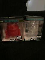 Darth Vader Clear/White Chopper Red Hikari Mini Smugglers Bounty Lot Star Wars