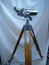 WW2 German Binoculars 10x80 Carl Zeiss Tripod Polished Metal  Excellent Optics