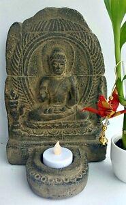 Gorgeous Volcanic Stone Buddha Shrine