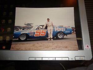 1971 Tiny Lund No. 55 Pepsi (Blue) Mercury Cyclone 5 x 7 NASCAR Photo