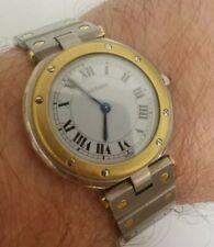 Cartier Santos Vendome Watch 750 Gold/Stainless Steel Quartz