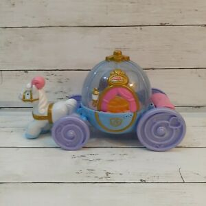 Fisher Price Little People Disney Princess Cinderella's Coach Carriage Works!