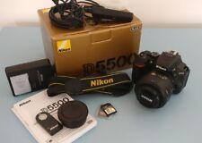 Nikon D D5500 24.2MP fotocamera reflex digitale + 35 mm 1.8 Nikon Lens + extra