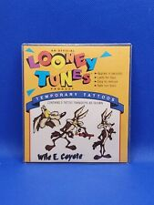 Looney Tunes Temporary Tattoos, Wile e. COYOTE