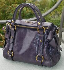 Authentic Miu Miu Prada Vitello Lux Vitello Mini Bow Handbag Bag $1450 RTL