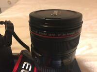 Canon L-series 24-105mm EF F/4 L IS USM Lens