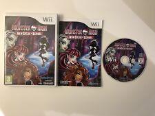 Monster High New Ghoul in School Nintendo Wii & Wii U Spiel Komplett