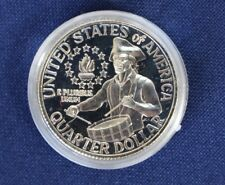 1776-1976-S Washington Proof Silver Quarter Bicentennial Drummer Boy  E0729