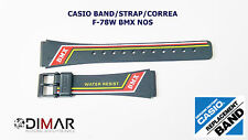 VINTAGE CASIO ORIGINAL BAND/STRAP/CORREA F78-W BMX NOS