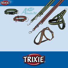 Trixie Dog Fusion Collars, Leashes | Leads & Harnesses Black/Orage Black/Green