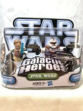 Obi-Wan Kenobi and Commander Fil Star Wars Galactic Heroes NIP